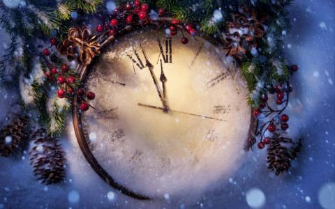"""С наступающим Новым годом! - Усадьба """"Дом Роз"""" - Частное домовладение Заозерного"""