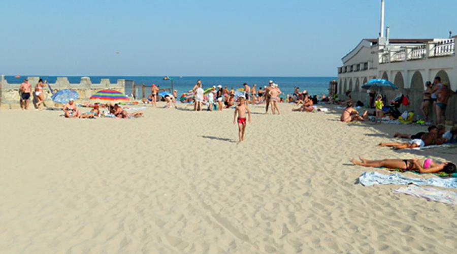 """Пляж - Усадьба """"Дом Роз"""" - Частное домовладение Заозерного"""